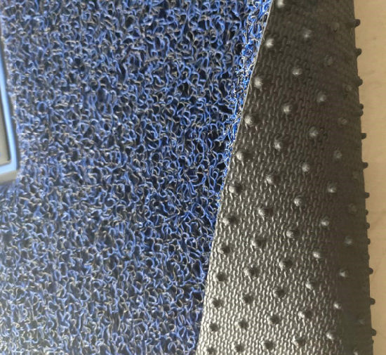 Environmental High Quality Car Decoration PVC Vinyl Spike/Nail Backing Plastic Car Carpet Mat in Roll