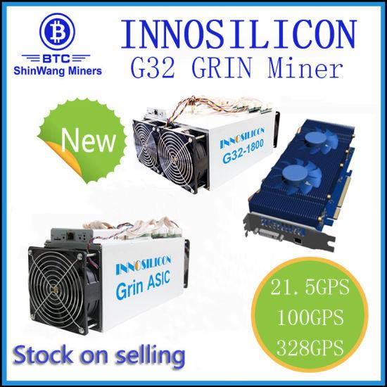 China Innosilicon G32 Grin Miner--Shenzhen Stock --- Shiping to Iran