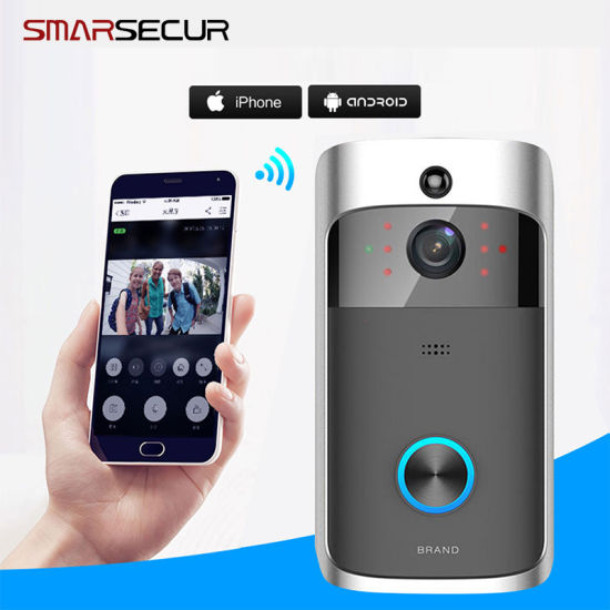 Smarsecur WiFi Security Doorbell Night Vision Video Door Phone pictures & photos