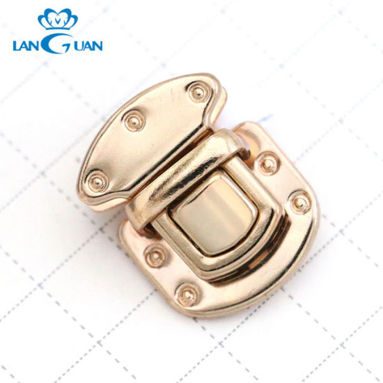 High Quality Latch Lock Twist Lock Bag Hardware Making Accessories pictures & photos