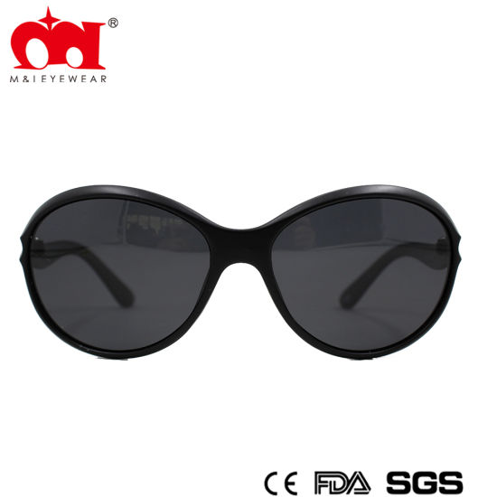 Stylish Retro Oval Plastic Women Sunglasses (WSP8040230) pictures & photos