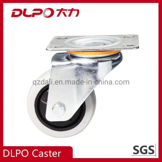 China Factory Swivel PU Industrial Castor Whees for Machine /Trial Cart