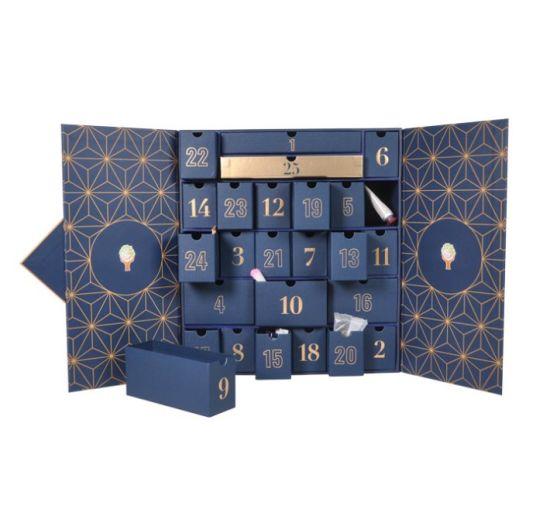 Custom Christmas Calendar Box Custom Blind Box Countdown Surprise Box Advent Calendar Box Gift Box