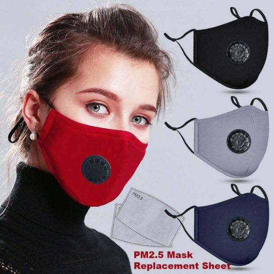 Anti Pollution Mask Dust Respirator Washable Reusable Polution Asthma Travel New
