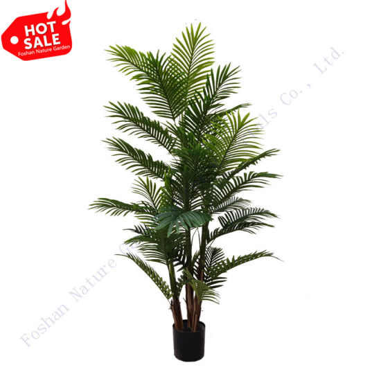 Near Natural Indoor Home Decoration Plants Simulation Palm Artificial Tree