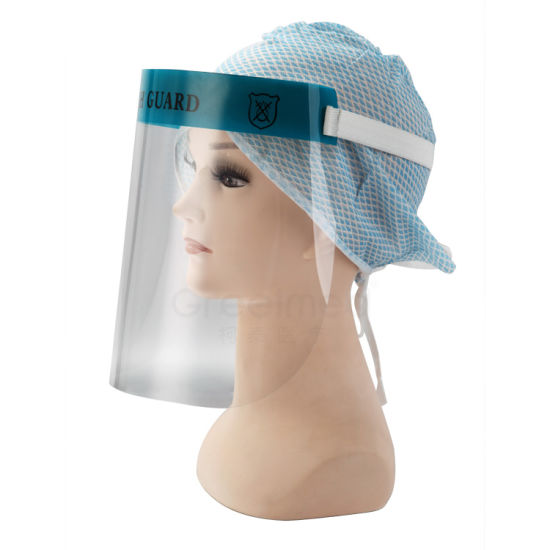 Safety Transparent Plastic Disposable Face Shield