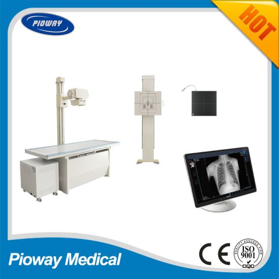 High Frequency Digital Radiography X-ray Machine Table Type Dr (HF-DR50)