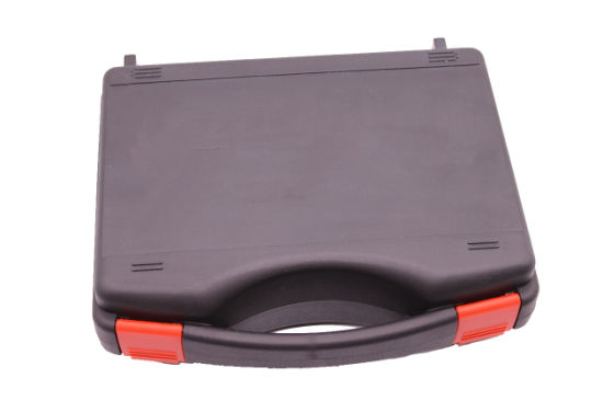 Black Durable Professional Plastic Tool Carrying Case