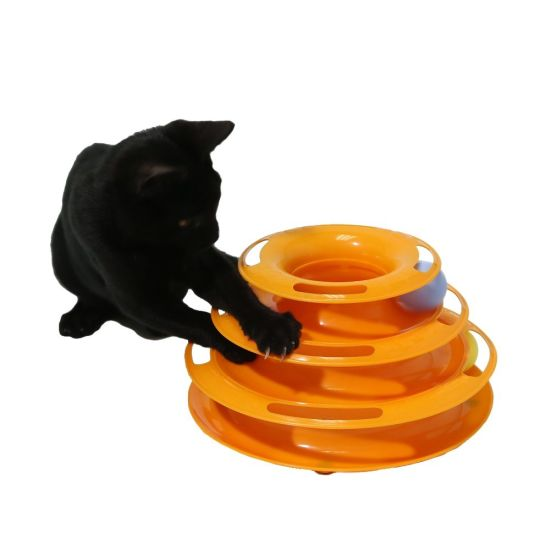 Wholesale Popular Plastic Rolling Ball Cat Toy pictures & photos