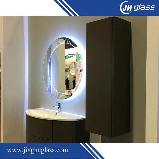 China Factory Made Wall Mounted Illuminated LED Bath Mirror with ...