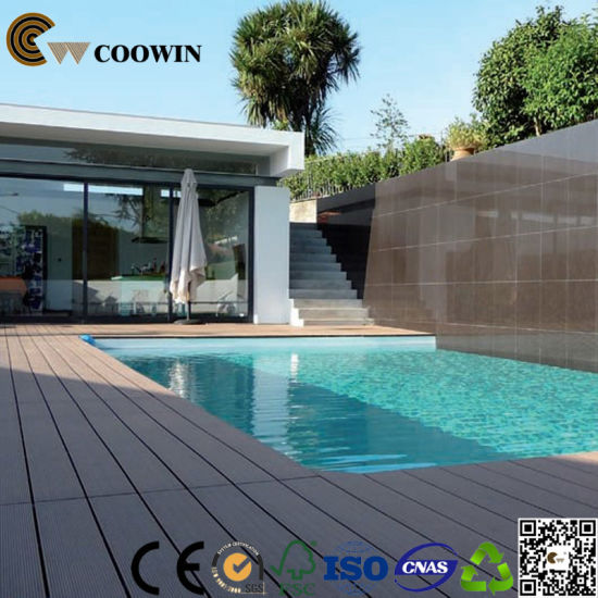 Fireproof Wood Plastic Composite Decking pictures & photos