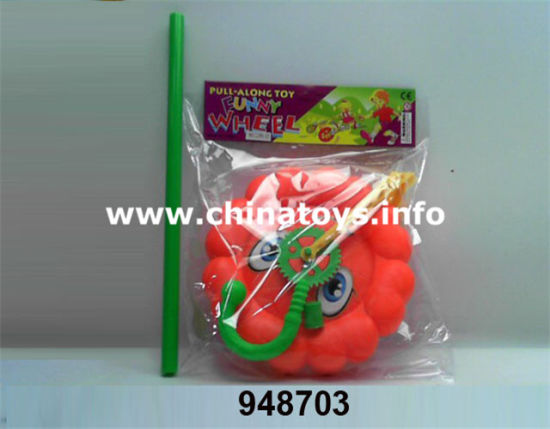 Promotional Plastic Pushing Bee Toy Push Wheel (1040902) pictures & photos