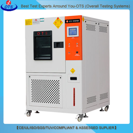 Touch Screen Programmable Rapid Rate Climatic Temperature Change Test Equipment