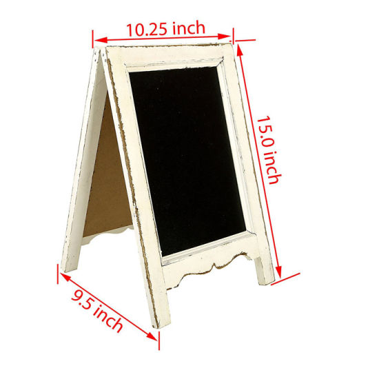 China White Making Old Wooden Frame Double-Sided Desk Board ...