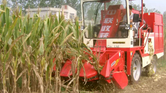 Maize Corn Harvesting Machine with Semi-Closed Driving Cab pictures & photos