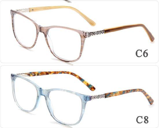 513801a3fd4a Online Custom Designer Women Men Ready Stock Eyes Glasses Optical Frame  Colorful Teens Acetate Eyewear