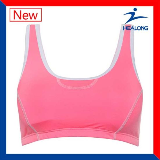 efa87f5c257 China Healong 100% Cotton Sports Ladies Bras for Sale - China Sports ...