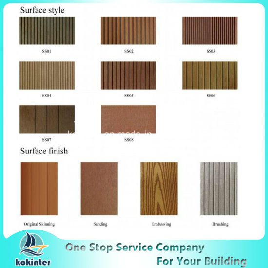 WPC Wood Plastic Composite Column for Pavilion Railing Fence pictures & photos