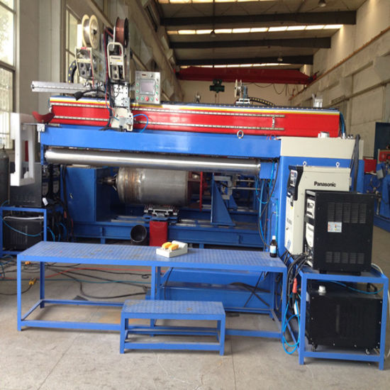 Vacuum Tube Solar Water Heater Tank Production Line