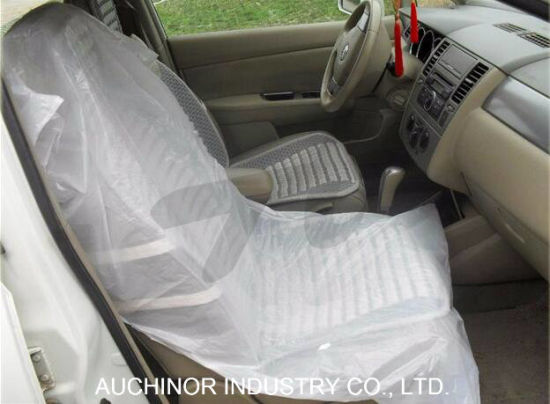 Customized New Design Protector Disposable Plastic Car Seat Cover pictures & photos