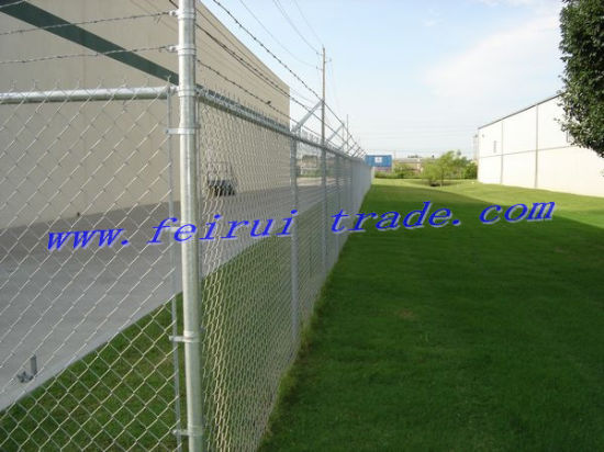 Chain Link Fence for Warehouse with 4m Height pictures & photos