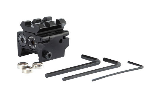 Compact Red Laser Sight Red DOT with Additional Rail (LS020B)