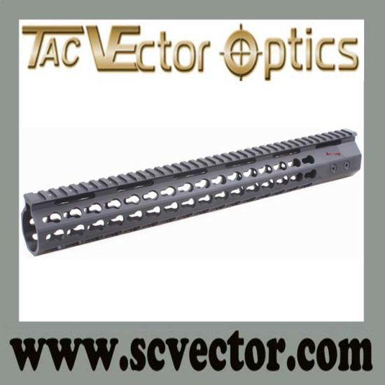 China Vector Optics Super Slim Style Free Float 15 Keymod Handguard