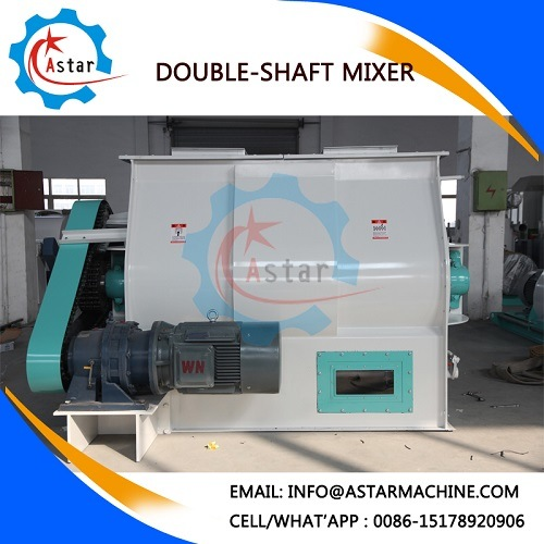 Sshj Series Double Shaft Animal Feed Mixer pictures & photos