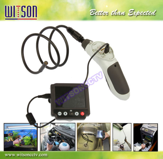 Witson 3.5'' Monitor Detachable Portable Industrial Endoscope (W3-CMP3813DX)