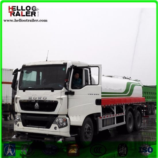 Diesel 6X4 Chassis carbon Steel Fuel Tanker Truck 20000L 336HP pictures & photos