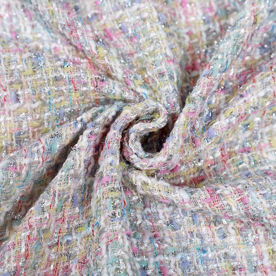 Rainbow Cotton Print Jacquard Fabric