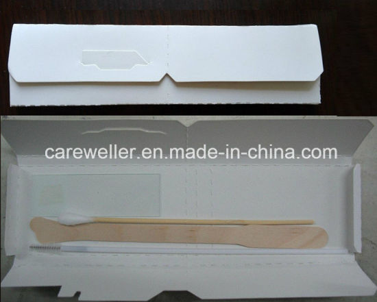 Disposable Sterile Pap Smear Test Kits /Gynecological Pap Cervical Test Kits pictures & photos