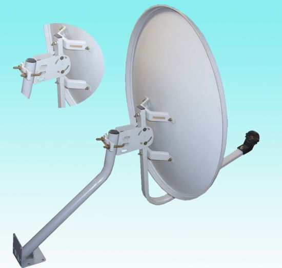 Ku55cm Offset Outdoor Cheap Digital Satellite TV Dish Antenna