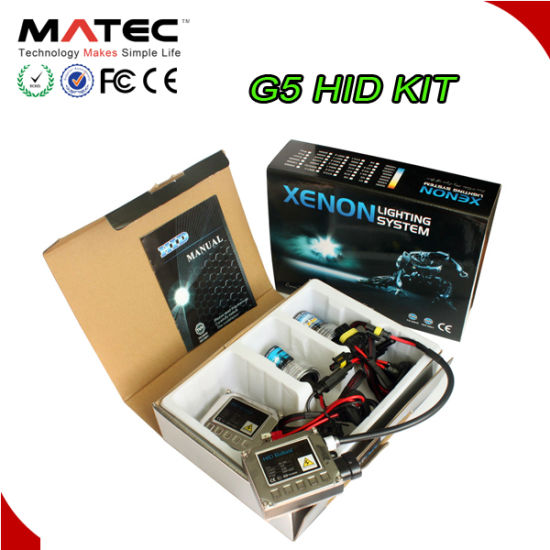 G5 Mini Ballast HID Kit H4 H7 9004 9007 Xenon Lamp With 35W 55W