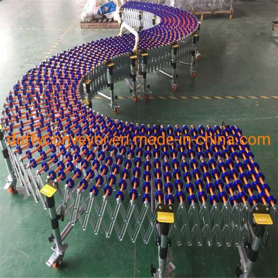 ABS Telescopic Skate Wheel Conveyor