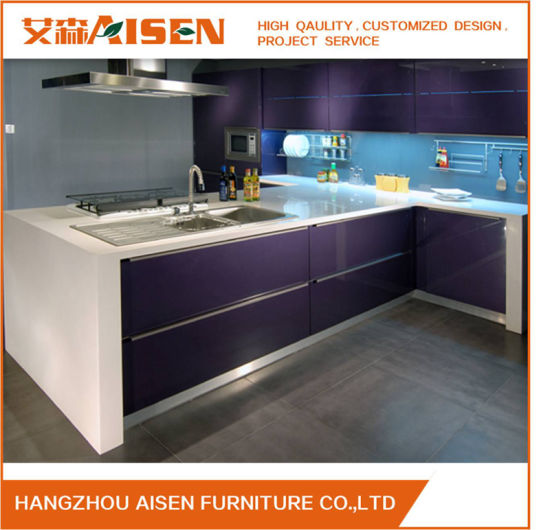 China Commercial Kitchen Furniture Bakery Painted Kitchen Cupboards ...