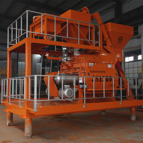 Force Concrete Mixer, Concrete Mixing Plant, Ready-Mix Machine (JS1500) pictures & photos
