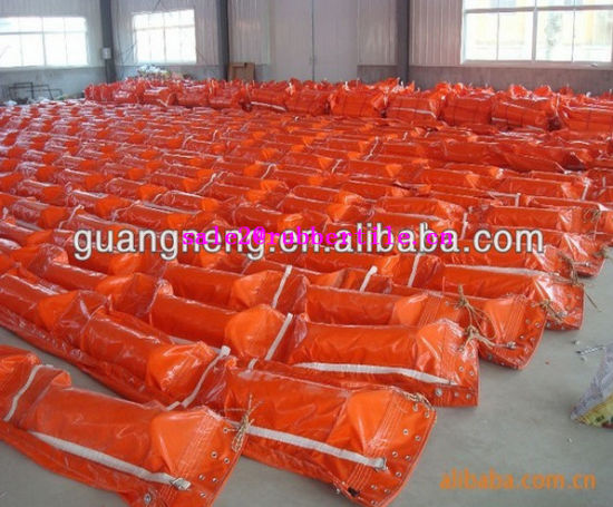 Wholesale Abrasion Resistance PVC Oil Spill Containment Boom, Rubber Dam pictures & photos