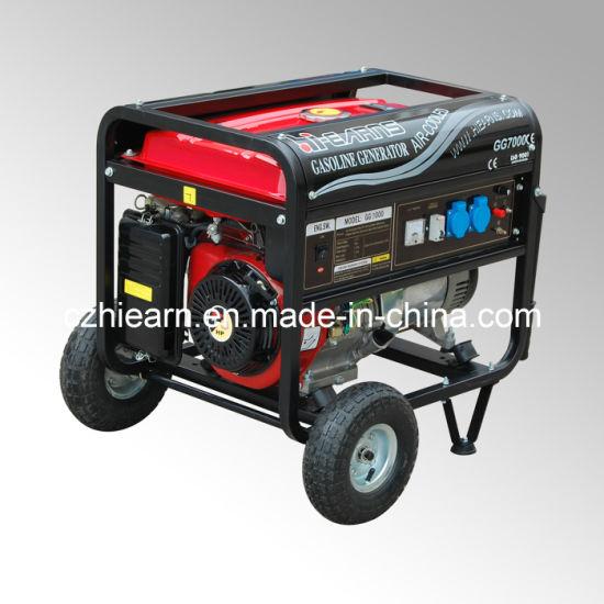6kVA For Honda Engine Gasoline Generator Price (GG7000DX)