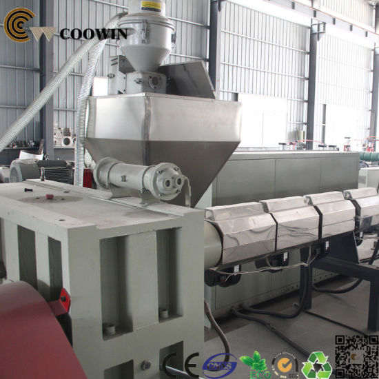 Decking WPC Profile Extrusion Line High Output Twin Screw Extruder pictures & photos