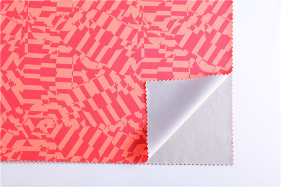 Factory Direct Supply 50d Polyester Knitted Flat Fabric Double-Sided Dyeing Flat Fabric Jiaji Fabric Skin-Friendly Cup Composite Fabric