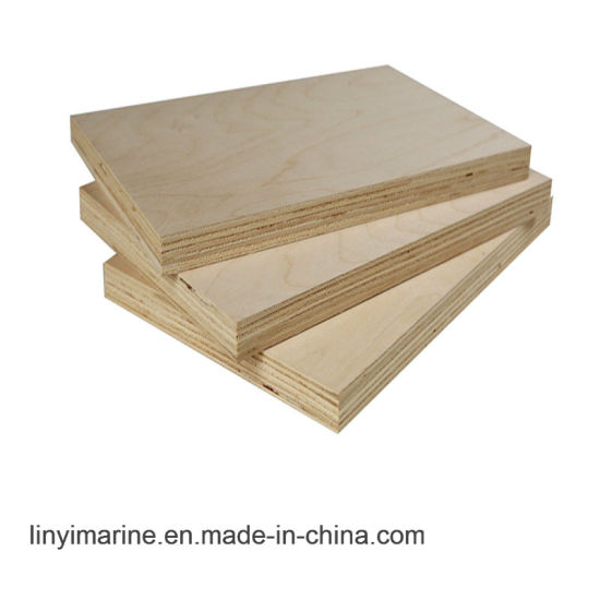 White Birch Veneer Plywood For Furniture Or Packing