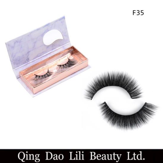2a0d3d4e088 Wholesale Glamorous Eyelashes Own Brand Eyelashes and Private Label 3D Mink  Lashes Faux Mink Lashes