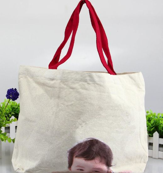 Canvas Women Handbag; Leisure Shoulder Bag