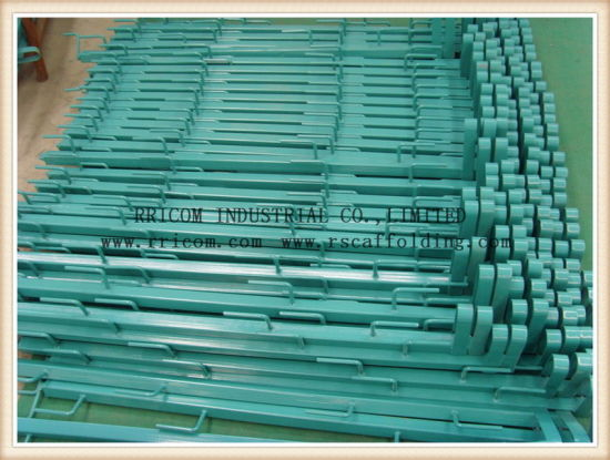 Powder Coated Square Steel Tube Type Guardrails for Garden Use pictures & photos
