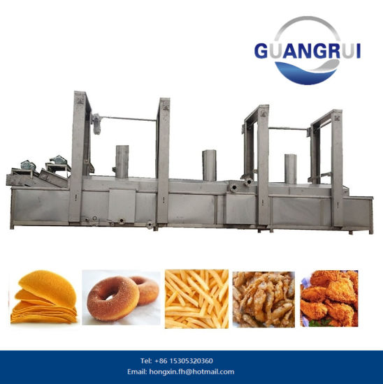 Potato Chips Donut Fryer Frying Machine for Food Processing Machine