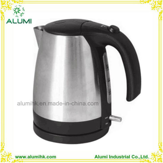 1.2L 304# Stainless Steel Electric Cordless Kettle for Hotel and Hospitality