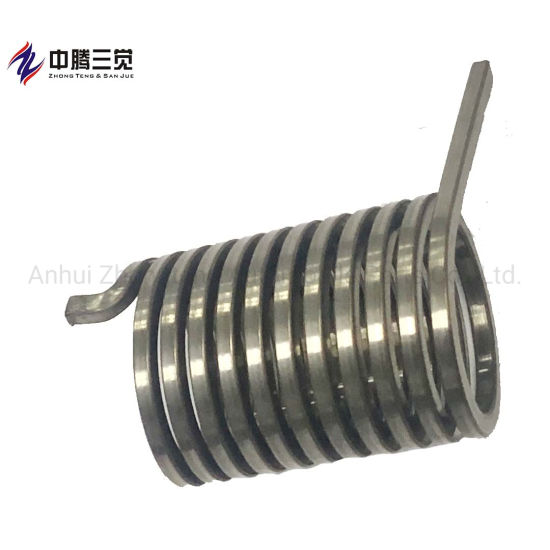 Manufacturer Custom Shaped Stainless Steel Torsion Spring for Sanitary Products