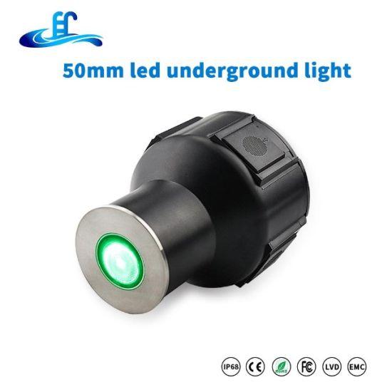 Walkway Deck Energy-Saving 1W 3W Waterproof IP67 LED Underground Light Embedded Floor
