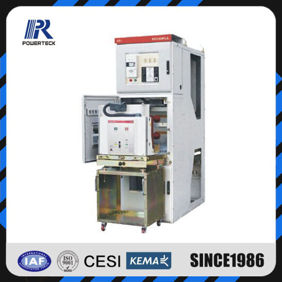 12kv Kyn28 Indoor Medium Voltage Withdrawable Metal Clad Switchgear